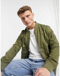 Jack Wills Howarth - Giacca bomber kaki - Verde
