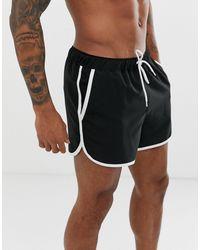 ASOS Runner Swim Short - Black
