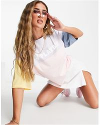 Missguided Playboy Co-ord Oversized T-shirt - White