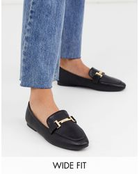 Park Lane - Wide Fit – Flache Loafer - Lyst