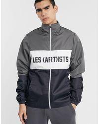 LES (ART)ISTS Les (art)ists Bekerz Panelled Jacket - Multicolour
