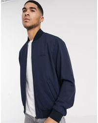Calvin Klein Twill Bomber Jacket-navy - Blue