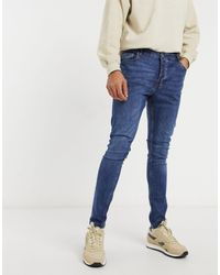 Brave Soul Ultimate Skinny Jeans - Blue