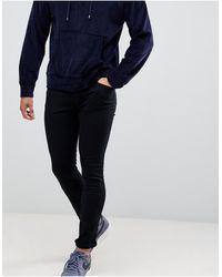 HUGO 734 Skinny Fit Jeans - Black
