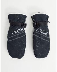 Roxy Snow - Jetty Solid - Moufles - Noir