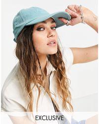 Reclaimed (vintage) Inspired - cappellino unisex giada slavato - Verde