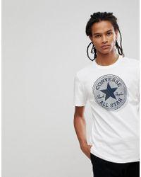Converse - All Stars T-shirt - Lyst