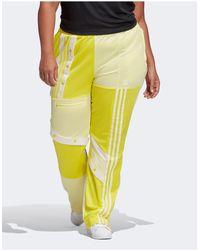 adidas Originals Желтые Спортивные Брюки Plus X Danielle Cathari Plus-желтый