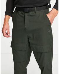 ASOS 4505 Jogger tissé à poches cargo - Noir