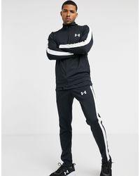 Under Armour – Sportstyle – Gestrickter Trainingsanzug - Schwarz