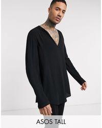 ASOS - Tall - Camicia - Lyst