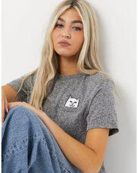 RIPNDIP Ripndip Lord Nermal Pocket T-shirt - Grey