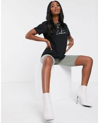 The Couture Club Motif Tee - Black
