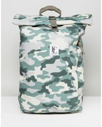 Forbes & Lewis - Rollie Rolltop Backpack In Camo - Lyst