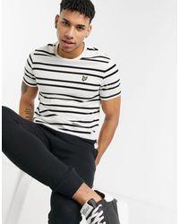 Lyle & Scott Double Stripe T-shirt - White