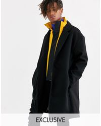 Collusion Overcoat negro Hybrid
