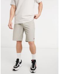 Tommy Hilfiger Светло-бежевые Баскетбольные Шорты Из Нейлона -серый