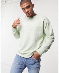 New Look – Sweatshirt - Grün