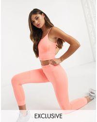 PUMA Training Exclusive To Asos leggings - Orange