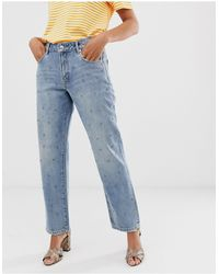 Sass & Bide Diamante Jeans - Blue