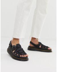 Dr. Martens 8092 Arc Sandals - Black