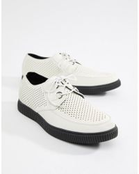 Boohoo - Creepers In White - Lyst