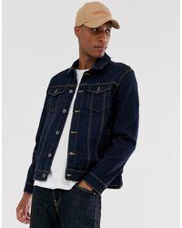 878583bcf Logo Denim Jacket - Blue