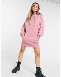 Urban Bliss Robe hoodie - sombre - Rose