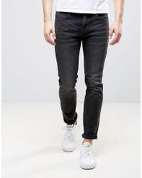 Wesc Alessandro Slim Fit Jeans In Cloudy Grey