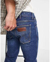 Wrangler Larston Slim Tapered Fit Jeans - Blue
