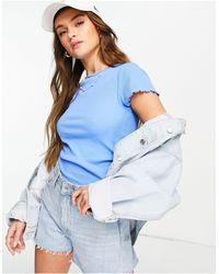 New Look – T-Shirt - Blau