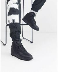 Nike Черные Кроссовки Lunar Force 1 Duckboot Bq7930-003 - Черный