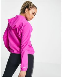 Under Armour Training Woven Hooded Jacket - Pink
