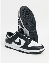 Nike Dunk Low Trainers - Black