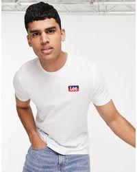 Lee Jeans Seasonal Logo T-shirt - White