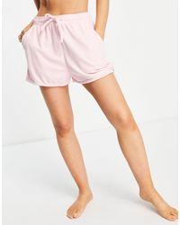 Rhythm - Розовые Махровые Шорты От Комплекта -розовый Цвет - Lyst