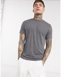 ASOS Muscle Fit T-shirt With Crew Neck - Grey