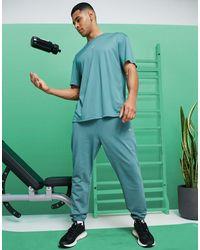 ASOS 4505 – Jogginghose aus Bio-Baumwolle - Grün