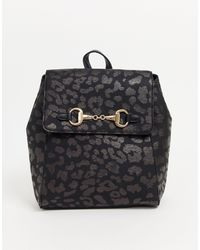 Skinnydip London Leopard Backpack - Black