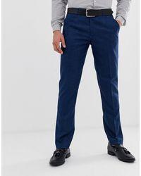 Original Penguin - Original - Slim-fit Pantalon Met Subtiele Textuur - Lyst