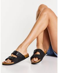 Lipsy Buckle Detail Sandals - Black