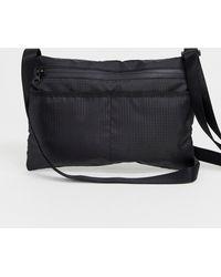 Weekday Avalon Crossbody Bag In Black