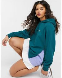 Lacoste Layered Detail Hoodie - Green