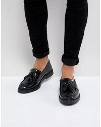 ASOS – Tasselloafer aus schwarzem Leder