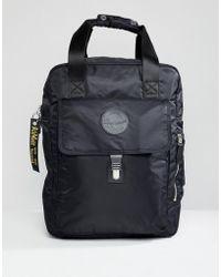 Dr. Martens - Black Large Nylon Backpack In Black - Lyst