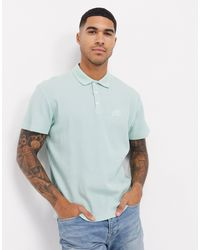ASOS Polo With Chest Embroidery - Green