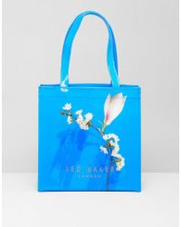 Ted Baker - Small Icon Bag In Harmony Floral - Lyst