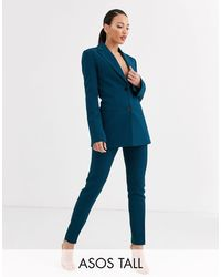 ASOS - Asos Design Tall Pop Slim Suit Pants - Lyst