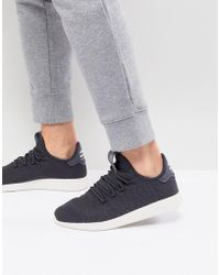 6281896a98646 adidas Originals - X Pharrell Williams Tennis Hu Sneakers In Gray Cq2162 -  Lyst