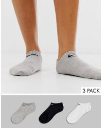 Nike Sneakersocken im 3er Pack Dri FIT Mittelgrau